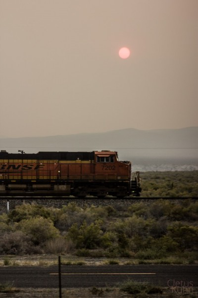 smokey-sun-with-train-nevada